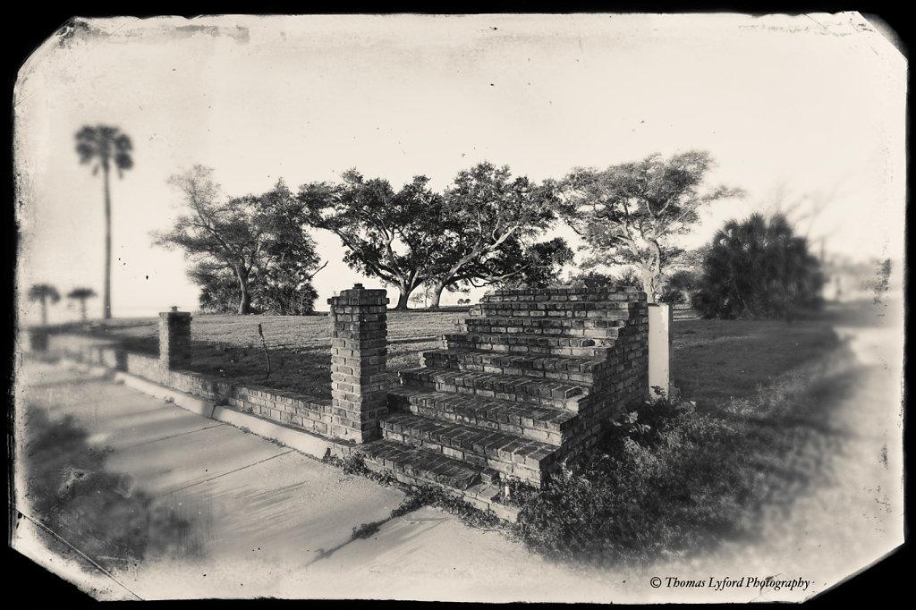 Katrina stairs to nowhere